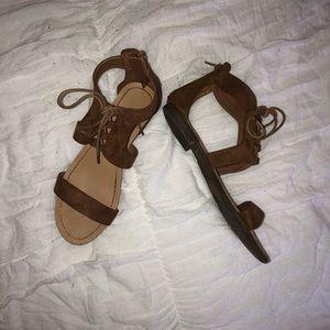 Shoes - Suede Sandler